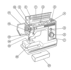 Janome K-150 Instruction Manual