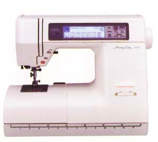 Janome MC8000 Instruction Manual