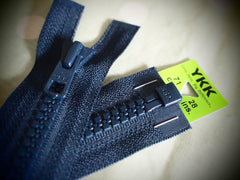 YKK Vislon Open End Zip 71cm 28inch Dark Navy (560)