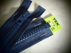 YKK Vislon Open End Zip 66cm 26inch Dark Navy (560)