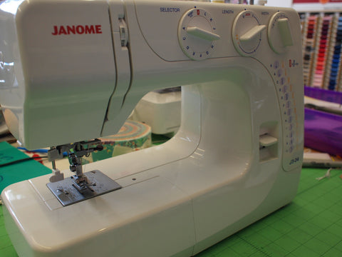 Janome Instruction Book - J3-24