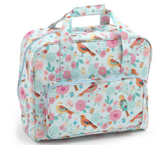 Sewing Machine Bag,carry case Birdsong Oil Cloth| Hobby Gift MR4660\275 | 20x43x37cm