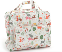 Sewing Machine Bag,carry case Woodland MR4660\285 Oil Cloth 20 x 43 x 37cm
