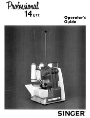 Singer 14U12 14U22 - Overlock Manual