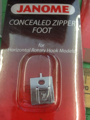 Cat B.C. Concealed Zipper foot