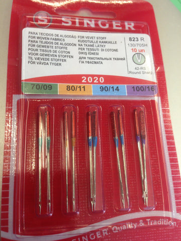 2020 Sewing Machine Needles For Wovens Assorted