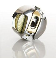 Pfaff Creative Bobbin Case - Gold Latch