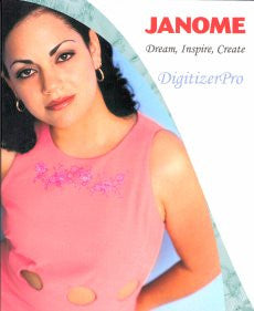 Janome DigitizerPro Embroidery Software