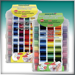 Madeira Rayon 40 Embroidery Thread in Threadable Travel Box