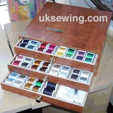 Madeira Thread Treasure Chest Wooden Embroidery Thread
