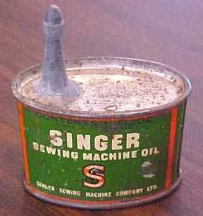 Singer Sewing Machine Oil
