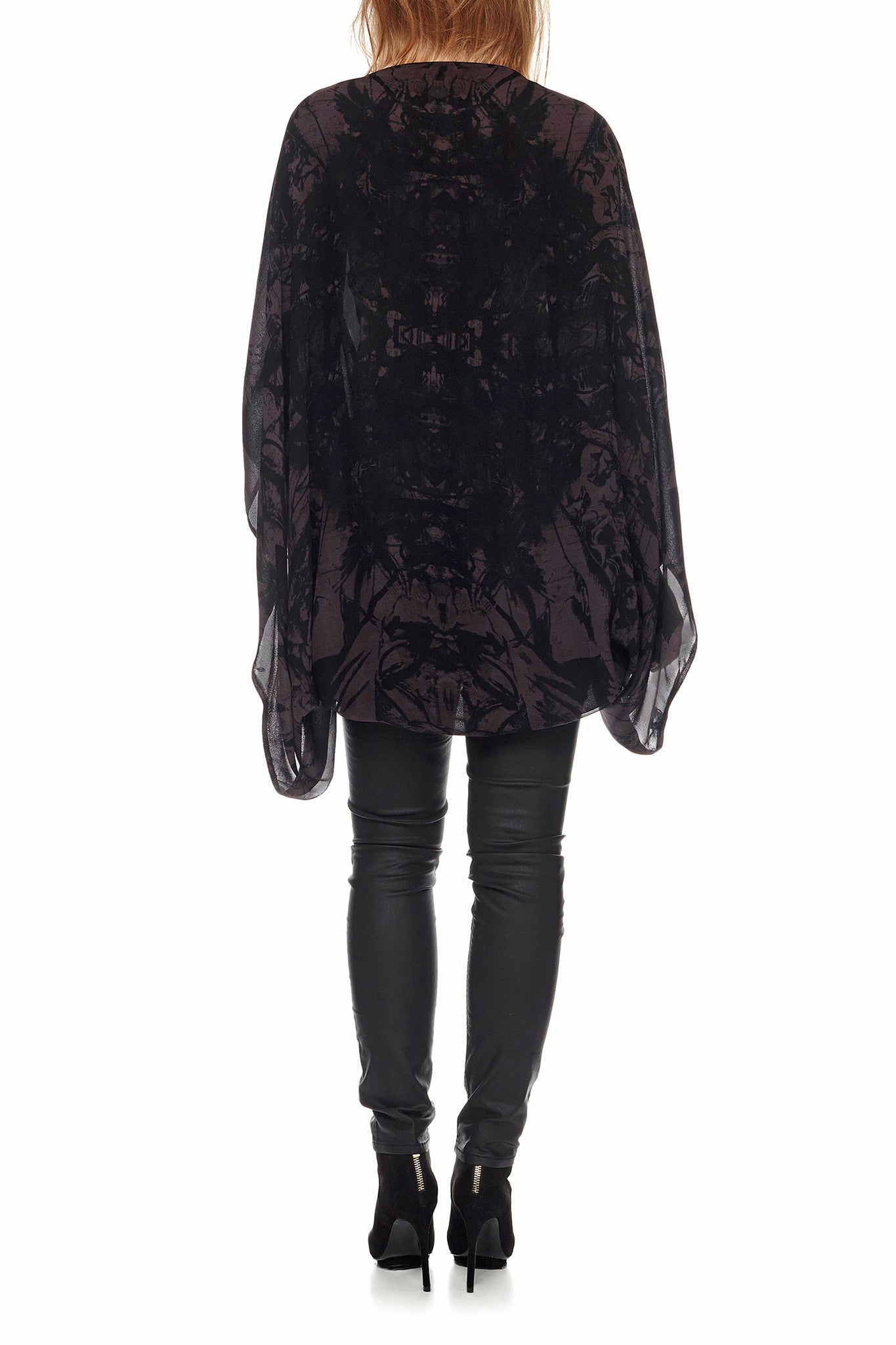 Show Girl Cape - Onyx