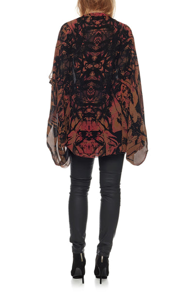 Show Girl Cape - Rust