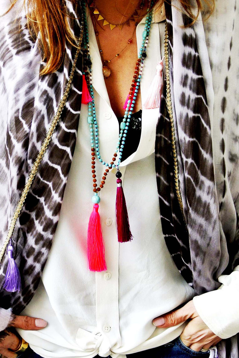 TASSLE NECKLACE PASSION