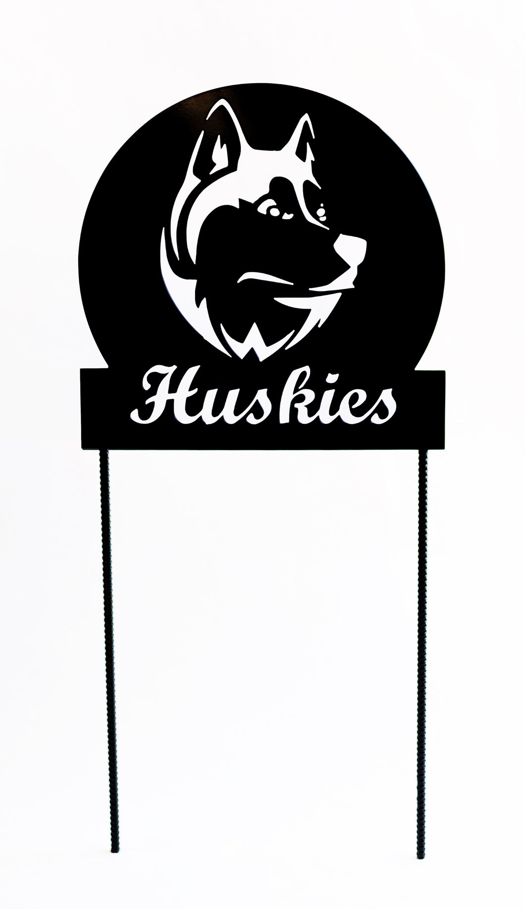 Huskie Yard Sign