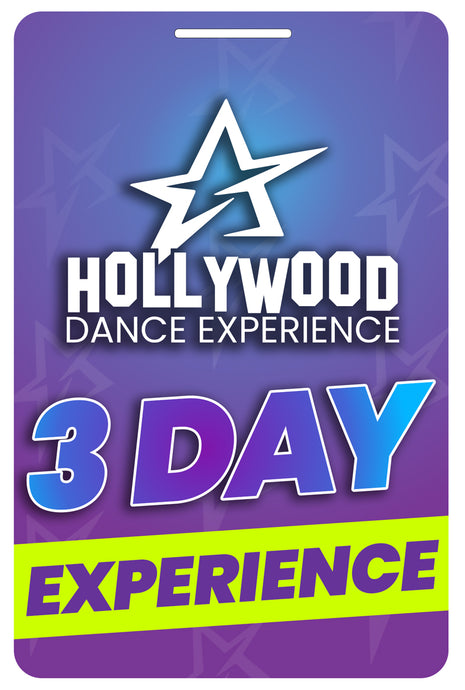 3 Day Hollywood Dance Experience