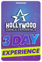 Load image into Gallery viewer, 3 Day Hollywood Dance Experience (Add On Dancer)