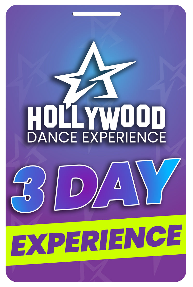 3 Day Hollywood Dance Experience (Add On Dancer)