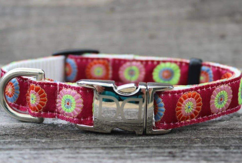 Sahara Rose Dog Collar