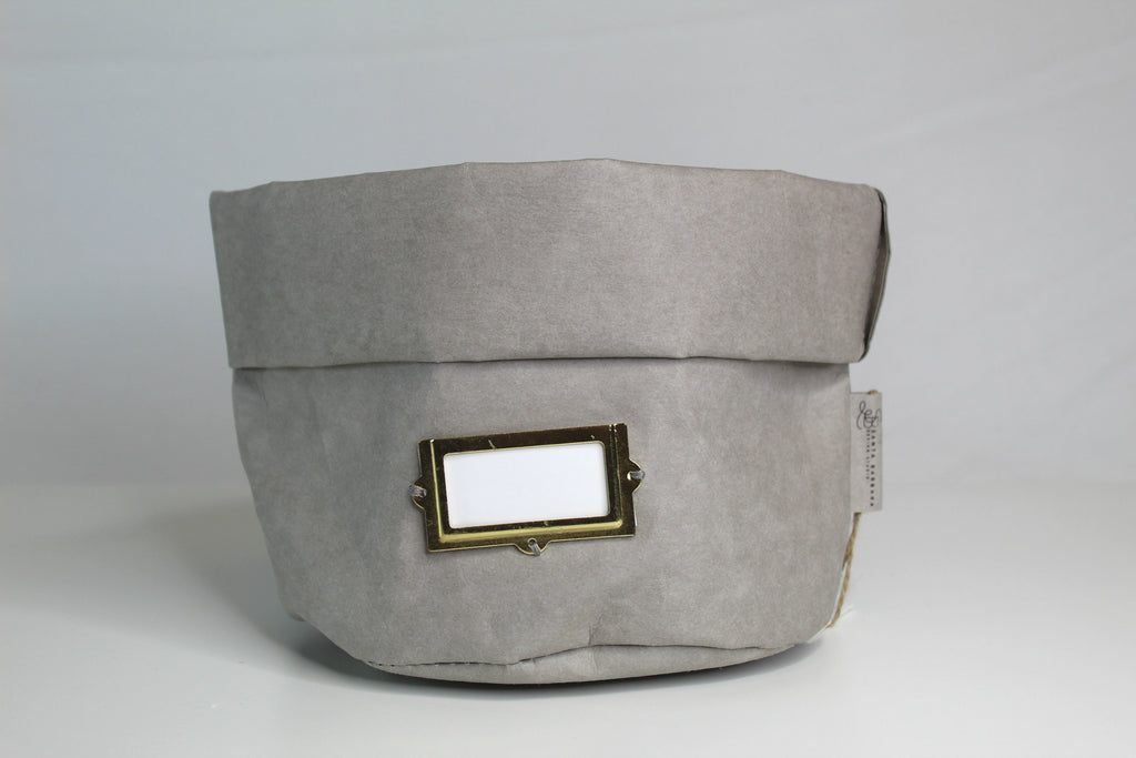 Grey Washable Paper Holder