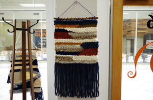 Handwoven Tapestry - Fall