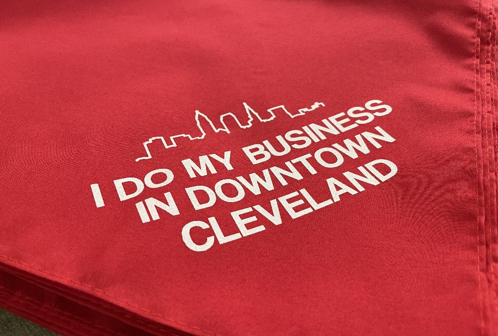 I Do My Business in Downtown Cleveland Bandana