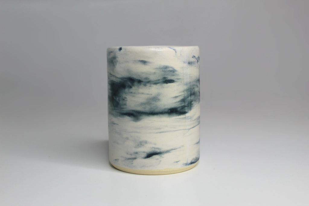 Ceramic Marbled Tumbler