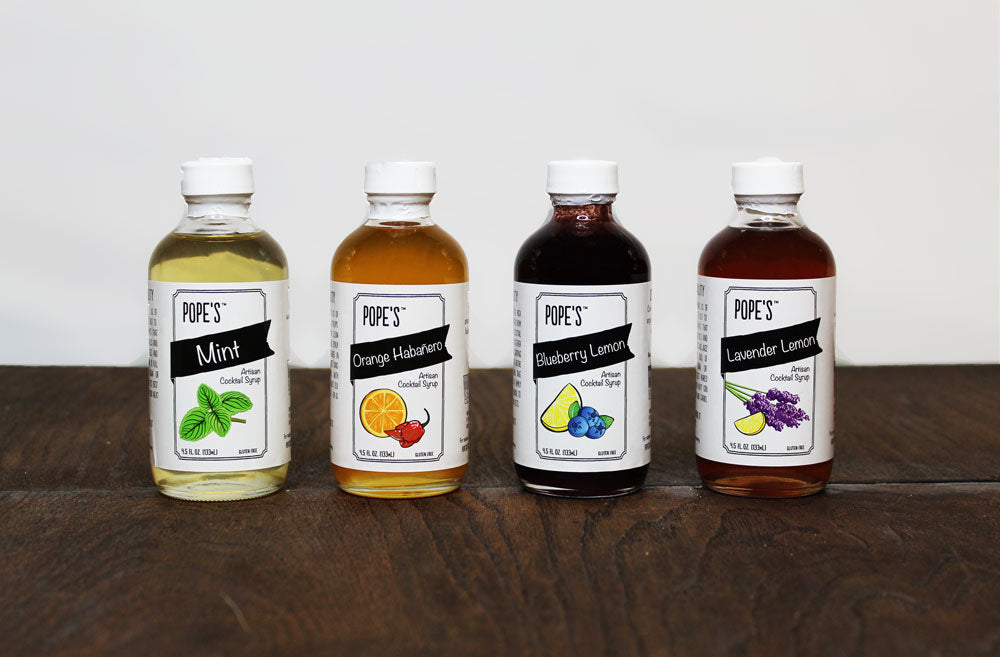 Artisan Cocktail Syrup Gift Set