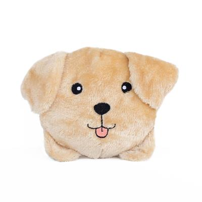 Yellow Lab Squeakie Buns Toy