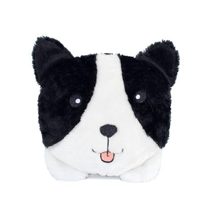 Border Collie Squeakie Buns Toy