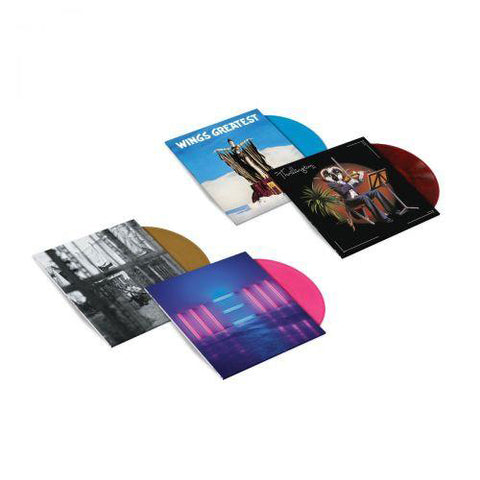 4LP Exclusive Colour Vinyl Bundle