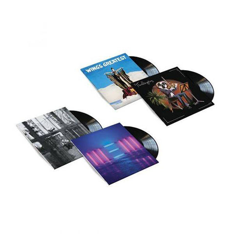 4LP Black Vinyl Bundle