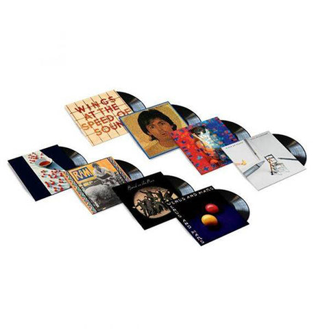8LP Black Vinyl Bundle