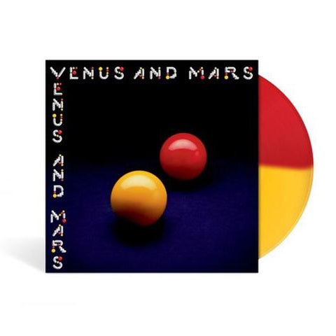 Venus and Mars - Limited Edition - Red and Yellow LP