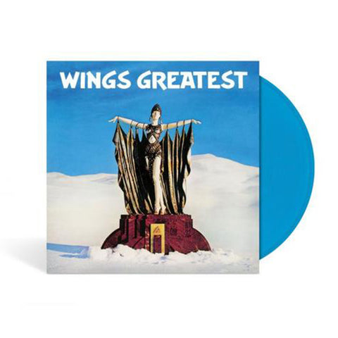 Wings Greatest - Limited Edition - Blue LP