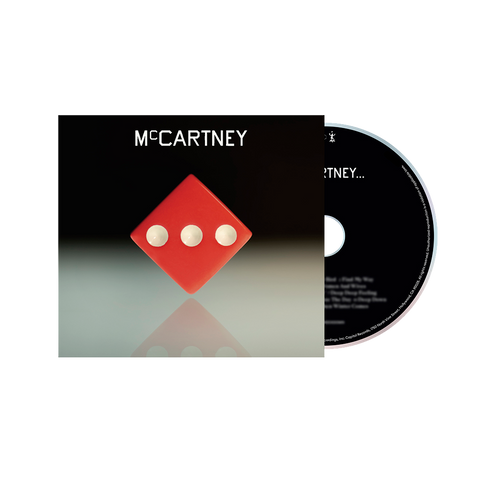 McCartney III - Deluxe Edition Red Cover CD