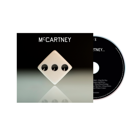 McCartney III - Deluxe Edition White Cover CD
