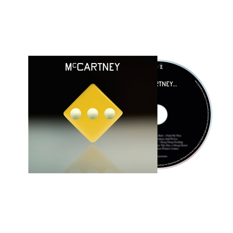 McCartney III - Deluxe Edition Yellow Cover CD