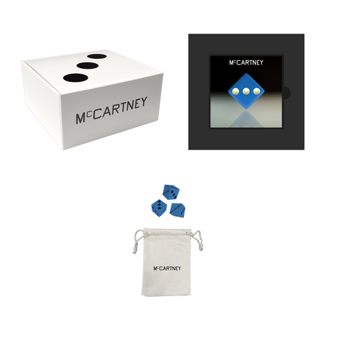 McCartney III - Secret Demo Edition Blue Cover CD and Dice Box Set