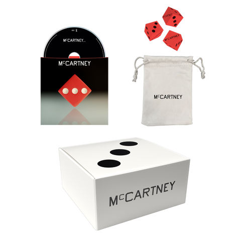 McCartney III - Secret Demo Edition Red Cover CD and Dice Box Set