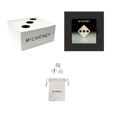 McCartney III - Secret Demo Edition White Cover CD and Dice Box Set