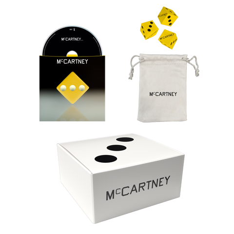 McCartney III - Secret Demo Edition Yellow Cover CD and Dice Box Set