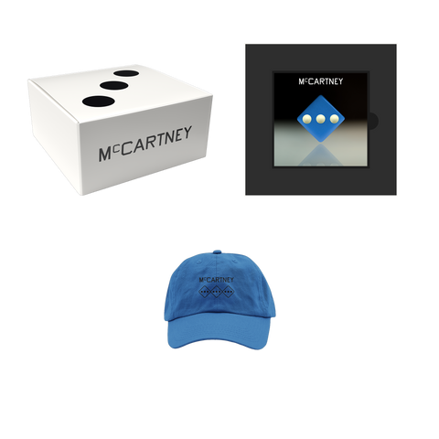 McCartney III - Secret Demo Edition Blue Cover CD and Hat Box Set