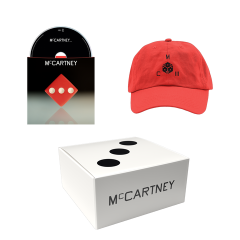 McCartney III - Secret Demo Edition Red Cover CD and Hat Box Set