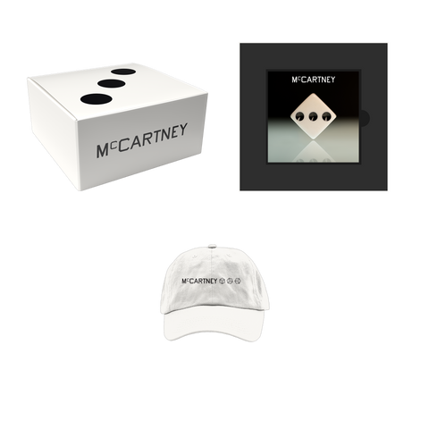 McCartney III - Secret Demo Edition White Cover CD and Hat Box Set