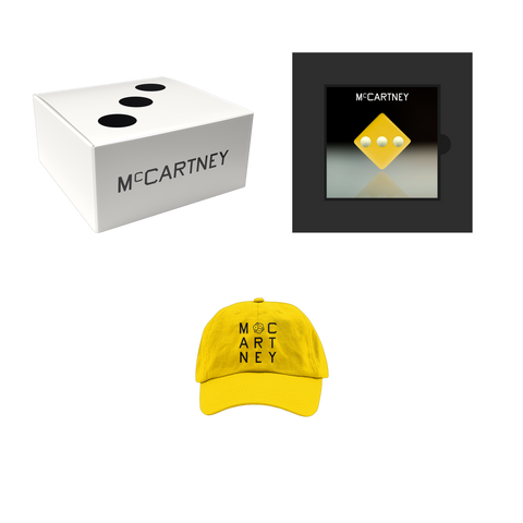 McCartney III - Secret Demo Edition Yellow Cover CD and Hat Box Set