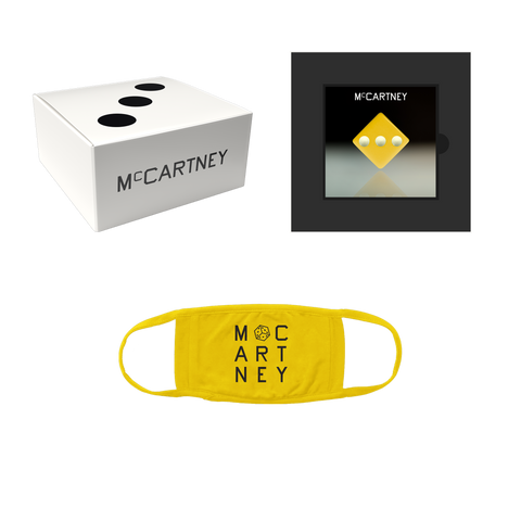 McCartney III - Secret Demo Edition Yellow Cover CD and Mask Box Set