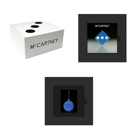 McCartney III - Secret Demo Edition Blue Cover CD and Ornament Box Set