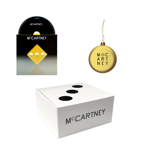 McCartney III - Secret Demo Edition Yellow Cover CD and Ornament Box Set