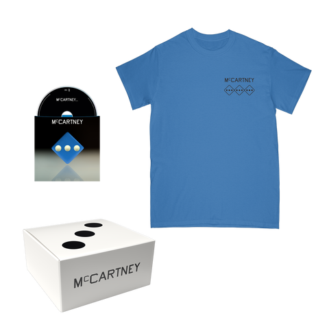 McCartney III - Secret Demo Edition Blue Cover CD and T-Shirt Box Set